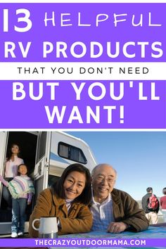 If you live in your RV or camper for any amount of time, it's worth the investment to make your life easier! These products will help you live a more comfortable, happy camping life! Travel Trailer Camping, Best Camping Gear, Camping Packing, Diy Camping, Camping List, Camping Crafts, Camping With Kids, Family Camping, Camping Hacks