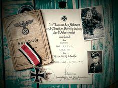 Soldbuch & document Ek2