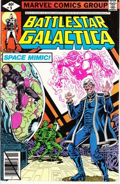 Battlestar Galactica Comic Book #2 Unread Marvel Comics 1979 Very Fine