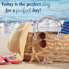 Today is the perfect day for a perfect day!