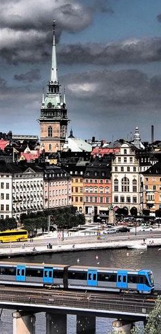 Stockholm, Sweden. I have been here. It's a beautiful place to see.