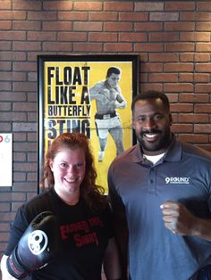 Way to go Amanda who hit 100 workouts, she earned that shirt! Killing it at 9Round Catskill! #30minutes #9Rstrong