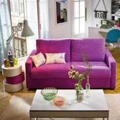 #Sofa cama de 3 plazas Urban Chic modelo Nube Arizona #Decoracion #ElCorteIngles