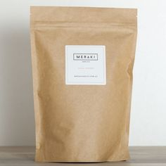cacao powder - Kraft paper stand up pouch packaging