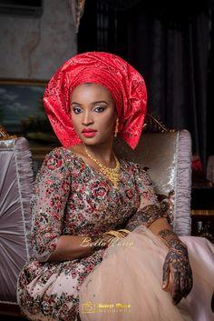 BellaNaija Bride Muneerah | Muneerah & Umar's Wedding | Hausa Bride | George Okoro Photography