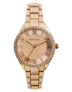 #Lyoness | Rose Gold Sports Watch | Metallic | Monsoon | https://www.lyoness.com/at/stores/de-at/609000473