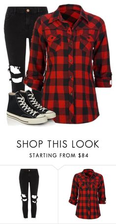 """Untitled #259"" by theliviafiles ❤ liked on Polyvore featuring River Island, Full Tilt and Converse"