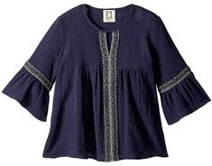 People's Project LA Kids Tessy Woven Blouse Girl's Blouse