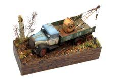 Opel Blitz 1/35 Scale Model Diorama