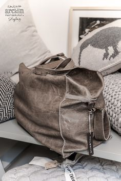 © Paulina Arcklin | SUKHA AMSTERDAM www.sukha-amsterdam.nl  LOVE this leather & design.