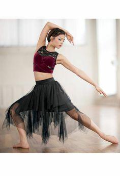 tenue de danse moderne, vêtements sceniques