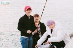 gotta go fishing Seventeen Scoups, Jeonghan Seventeen, Seungkwan, Wonwoo, Seventeen One Fine Day, Pledis 17, Pledis Entertainment, Jooheon, K Idols