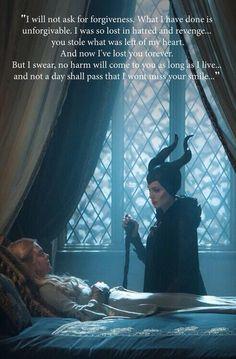 Maleficent beautiful .