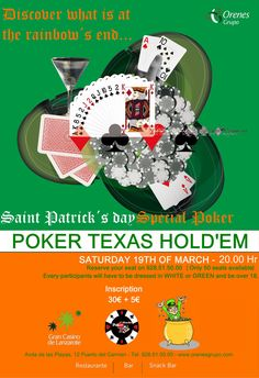 Torneo de Poker St. Patric's Day