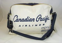 CANADIAN PACIFIC AIRLINES BAG