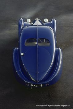 The Bugatti was unveiled in Paris in 1991 and went into production until Bugatti went out of business in 1995 (Bugatti has since been resurrected by Volkswagen). The car was available as a two-door sports car and only 31 cars were produced. Ferrari F40, Lamborghini Gallardo, Maserati, Bugatti Type 57, Bugatti Cars, Vintage Racing, Vintage Cars, Art Deco Car, Matra