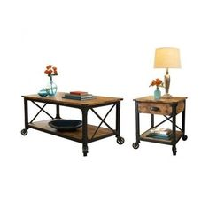 Better Homes and Gardens Rustic Country 2 Piece Living Room Set