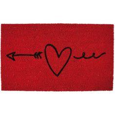 """Felpudo """" love is an arrow"""""""