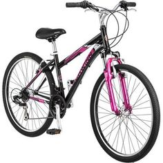 Fixed Gear Bikes - 26 Schwinn Sidewinder Womens Mountain Bike Matte Blackpink * Want to know more, click on the image.