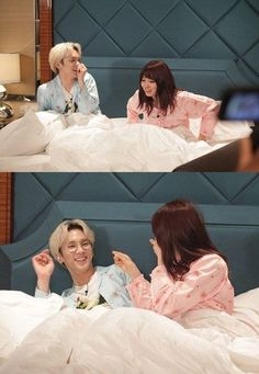 Key and Arisa Yagi try to seduce each other during their honeymoon on 'We Got Married - Global Edition'   allkpop.com