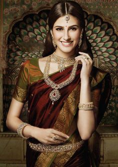 IT'S PG'LICIOUS #silksaree wedding jewelry