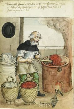 Retronaut - 1500s: Crafts and trades, Germany