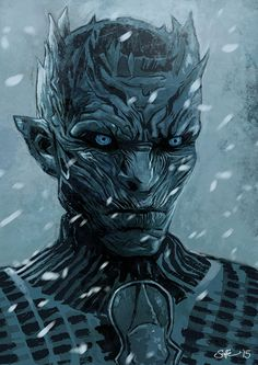 Game of Thrones Hardhome The Night's King A4 by Mygrimmbrother