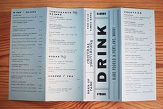 Central Provisions menu