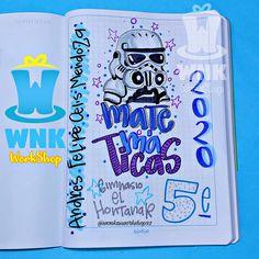 "W N K en Instagram: ""Más opciones para niño💎💙 personajes súper cool para este regreso a clases. . . . . . . #brush #lettering #tombow #letteringpractice…"" Apple Logo Wallpaper Iphone, Bullet Journal School, Calligraphy Alphabet, Pencil Art Drawings, Writing Styles, Border Design, Study Motivation, Diy And Crafts, Doodles"