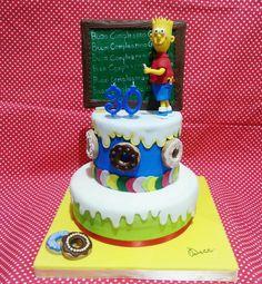 Cake design Simpson PasticceriaDece ViaCalefati 93 Bari