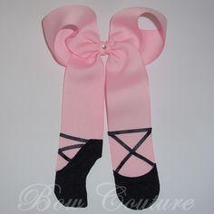 Ballet Slippers Dance Bow