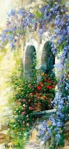 Art  ~ Antonietta varallo paintings -