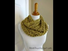 Episode 11: How to Crochet the Gold Leaf Infinity Scarf - YouTube