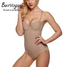 ca60e854cb5e4 Burvogue Hot Body Shaper Push Up Shapewear Waist Trainer Over-bust Shaper  Underwear for Women Slimming Bodysuit Seamless Shapers - MISS LADIES