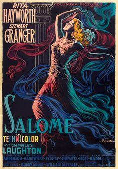 Salome, 1953 ~ Starring Rita Hayworth & Stuart Granger