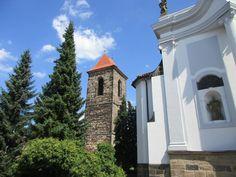 Kostel sv. Gotharda a zvonice v Českém Brodě - Středočeský kraj