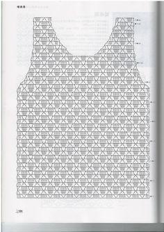 Fabulous Crochet a Little Black Crochet Dress Ideas. Georgeous Crochet a Little Black Crochet Dress Ideas. Débardeurs Au Crochet, Crochet Bolero, Pull Crochet, Gilet Crochet, Mode Crochet, Crochet Shirt, Crochet Jacket, Freeform Crochet, Crochet Woman