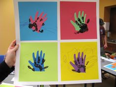 kiddy warhol! great way to introduce artists to little ones!