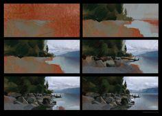 ArtStation - Lake, Timothy Rodriguez