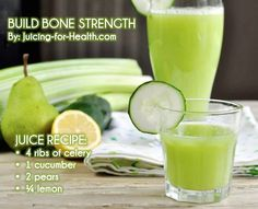 Why Drinking Alkalizing Juice is Essential for Strong Teeth and Bones (recipes included) - Juicing for Health