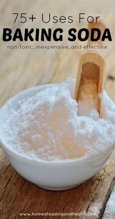 75+ uses for baking soda!:
