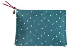 FALCONWRIGHT via Gems - Teal Leather w/ White Seeds