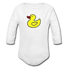 cute+duck+prints   White Cute Duck Baby Body