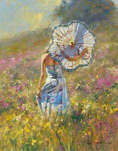 Robert Hagan - White Umbrella
