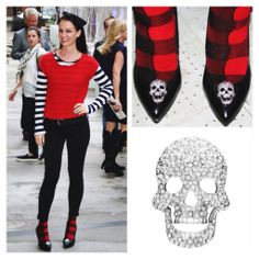 Channeling Alexander McQueen with Diamond Skull Shoelery Shoe Clips Your Shoes, New Shoes, Fashion Art, Fashion Shoes, Diamond Skull, Looks Street Style, Shoe Clips, Pretty Shoes, Get The Look