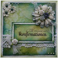 konfirmationskort - Google-søgning Google, Frame, Cards, Decor, Picture Frame, Decoration, Maps, Decorating, Frames