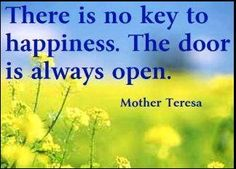 Key to Happiness ...