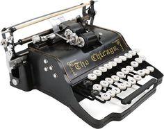 Chicago Schreibmaschine Vintage-Deko Dekorations- Artikel NEUWARE!!