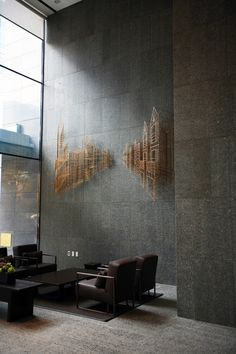 Do You Need Inspiration for Modern DIY In Your Home? Metal Sculpture Wall Art, Wall Sculptures, Metal Art, Diy Design, Design Art, Design Ideas, Modern Design, Feature Wall Design, 3d Max
