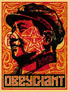 MAO STAMP BY SHEPARD FAIREY